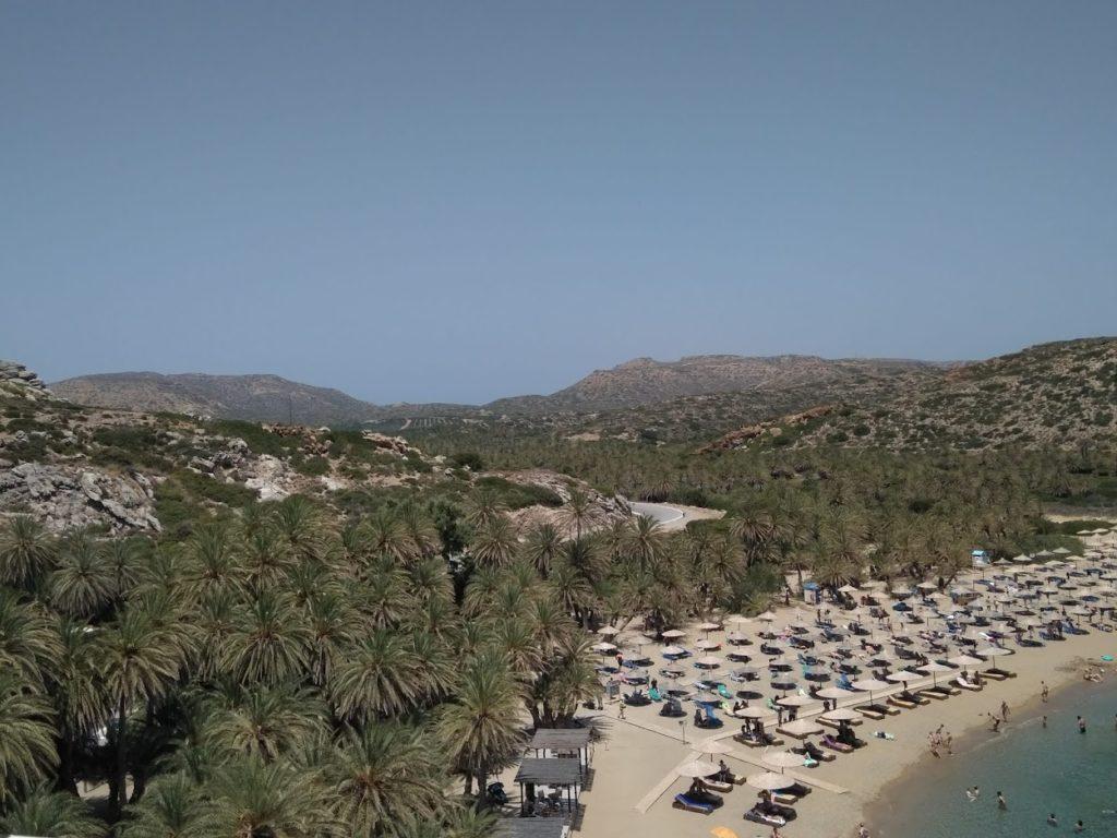 La spiaggia di Vai a Creta