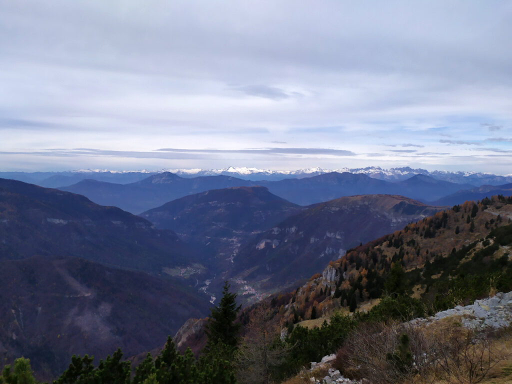 escursione al monte maggio da passo coe