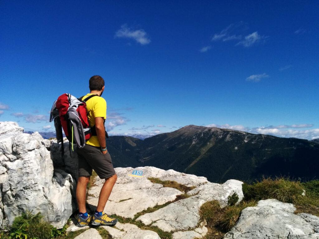 escursione al monte verena