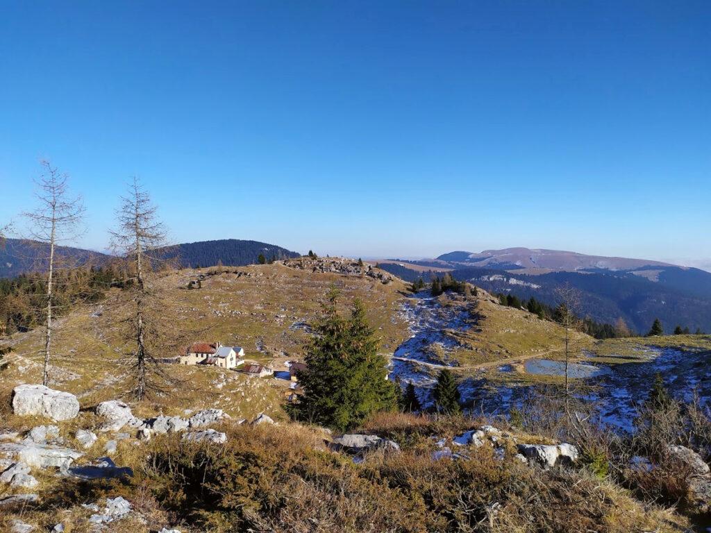 escursione sul monte zebio da asiago