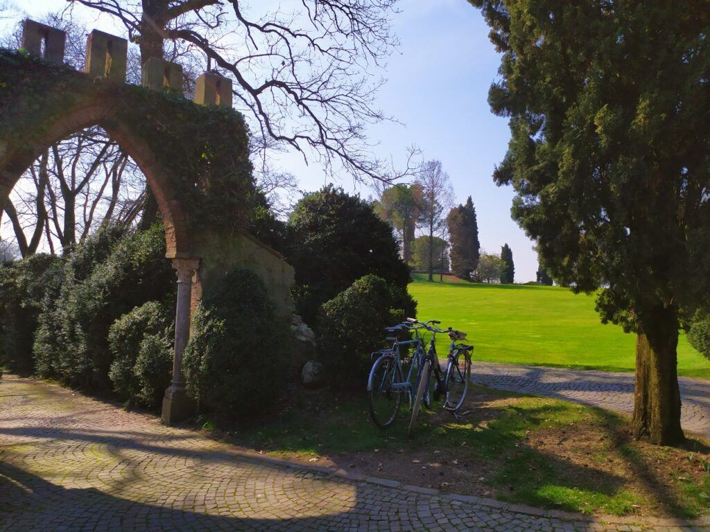 visitare parco sigurtà in bici