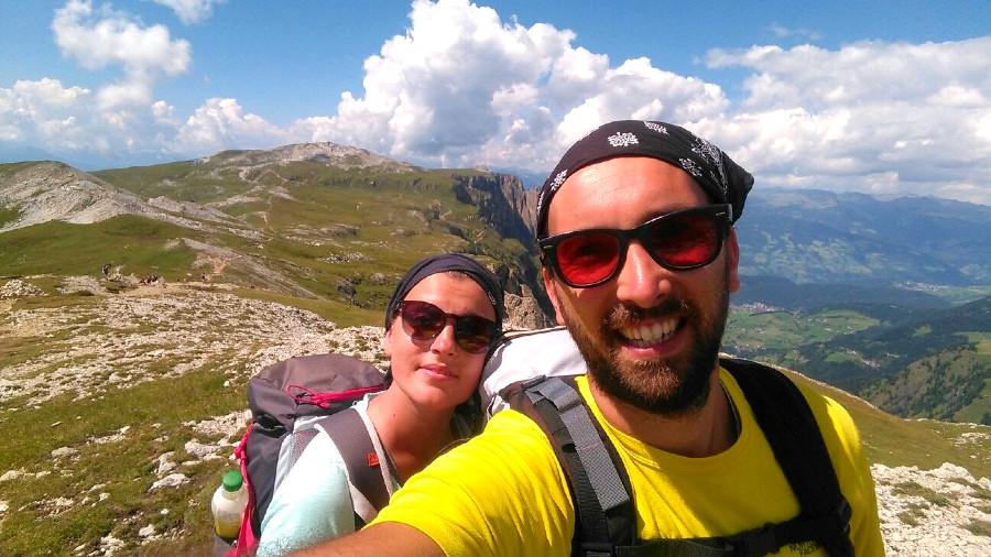 escursione al rifugio bolzano e alpe di tires