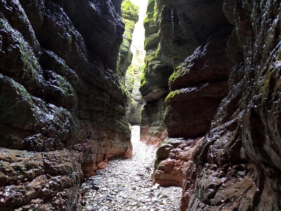 santuario madonna del buso canyon gallio