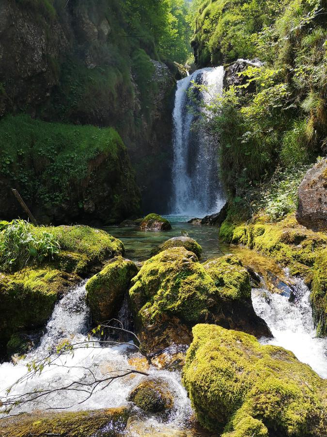 cascata civetta lastebasse dove si trova