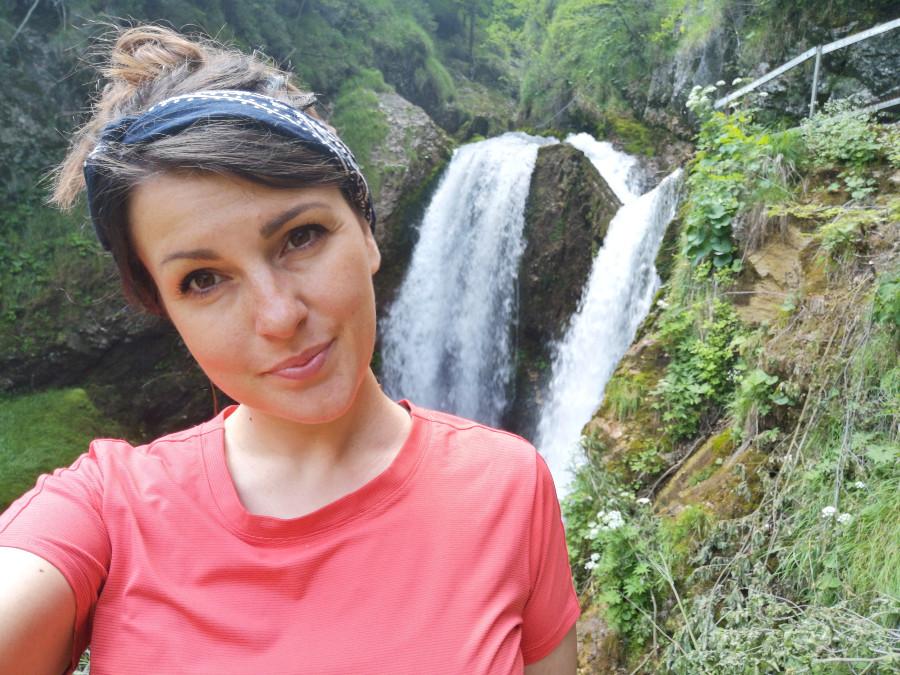 cascata lastebasse in viaggio per natura