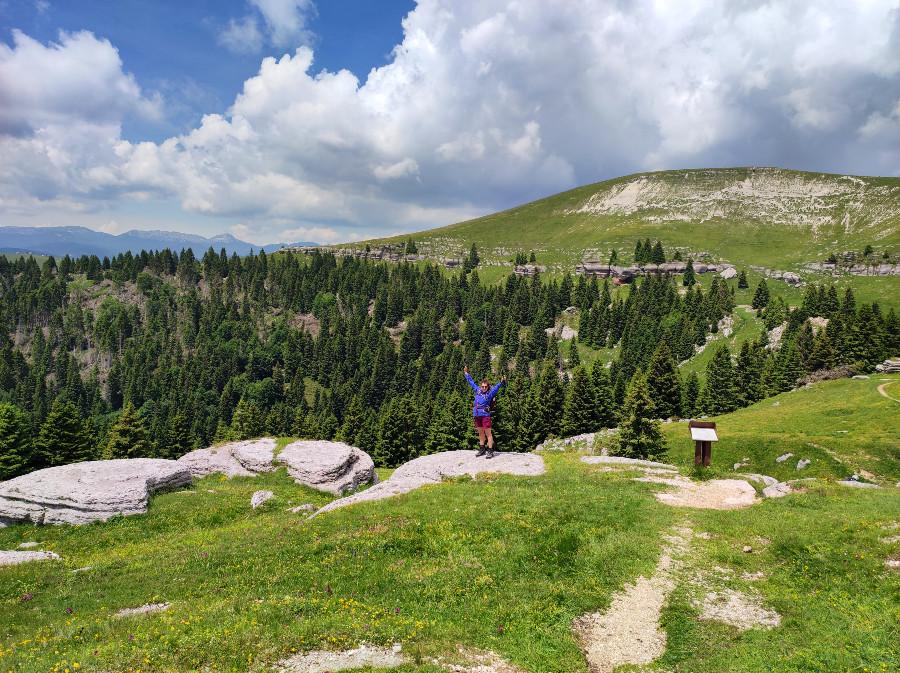 escursione al monte fior da malga slauper