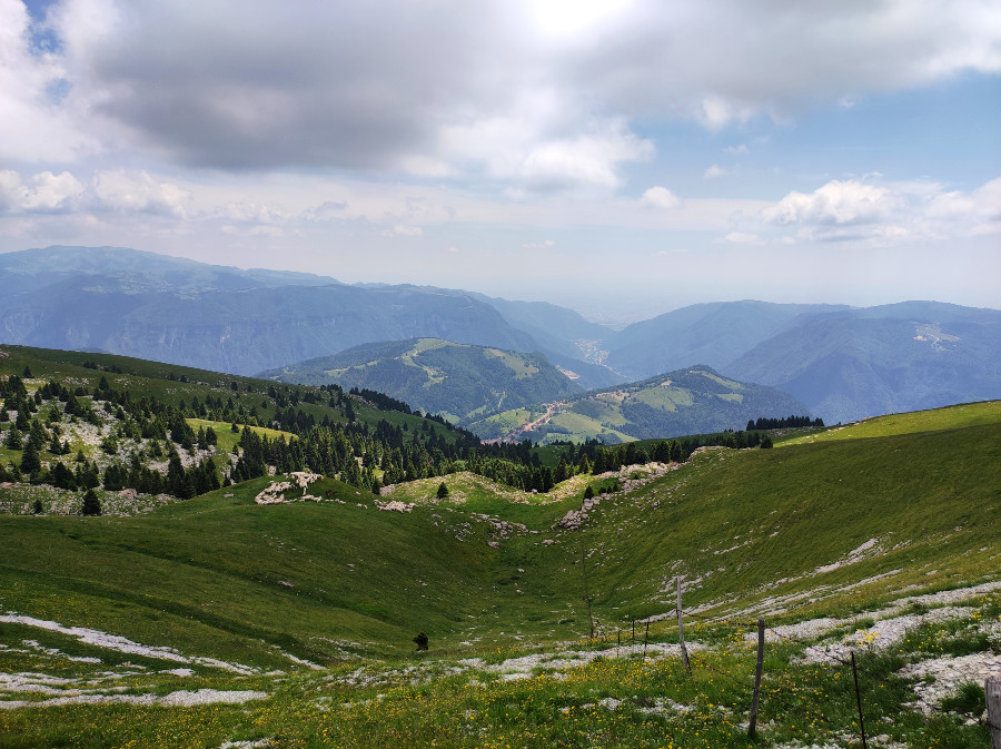 escursione monte fior e castelgomberto