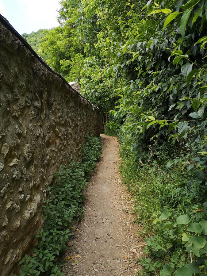 escursione valle dei mulini a mossano
