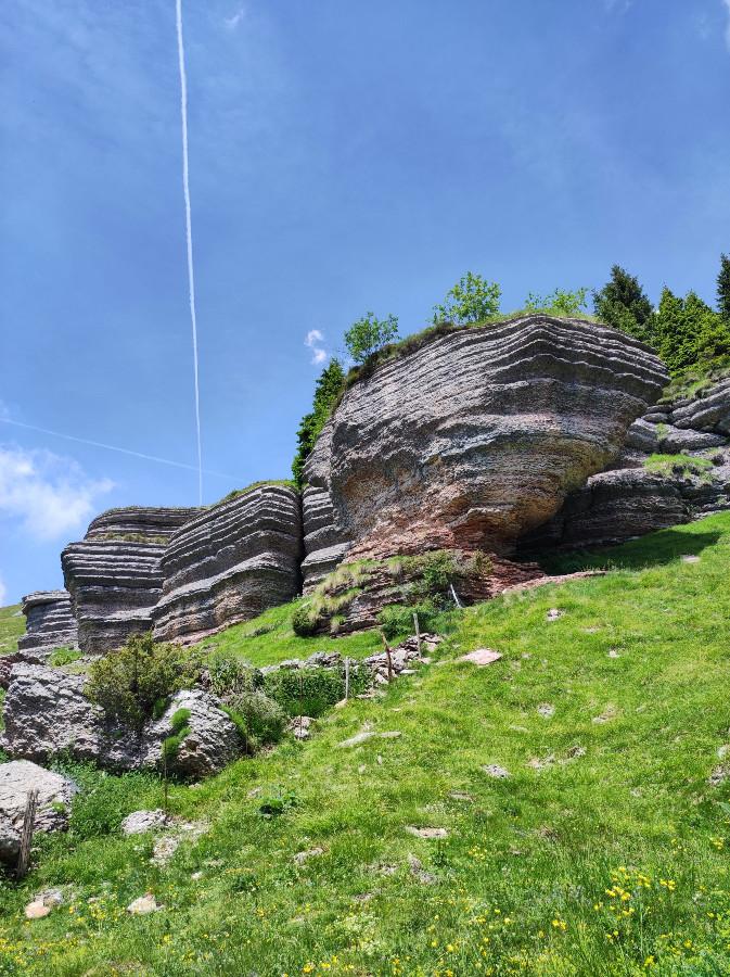 la città di roccia monte fior