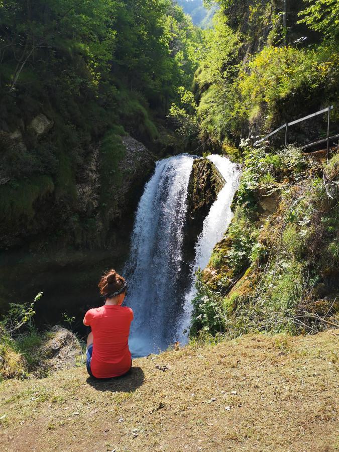sentiero cascata lastebasse
