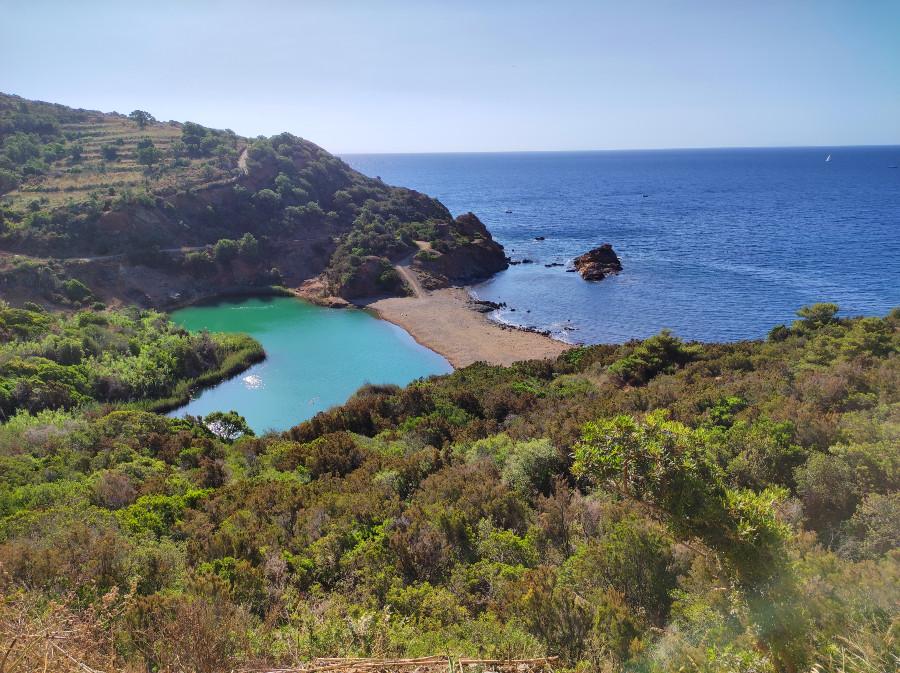 laghetto terranera isola d'elba