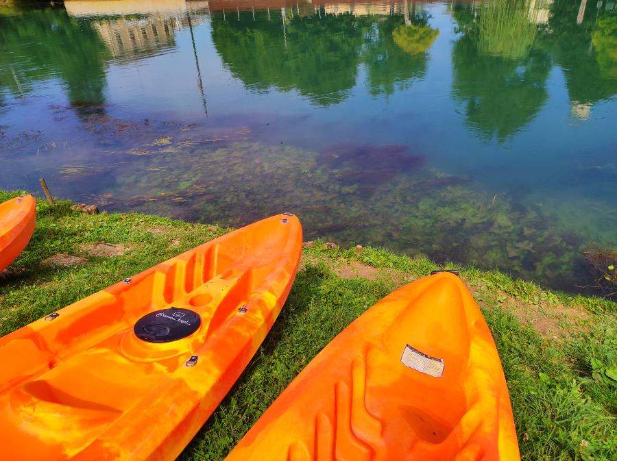 dove andare in kayak in veneto