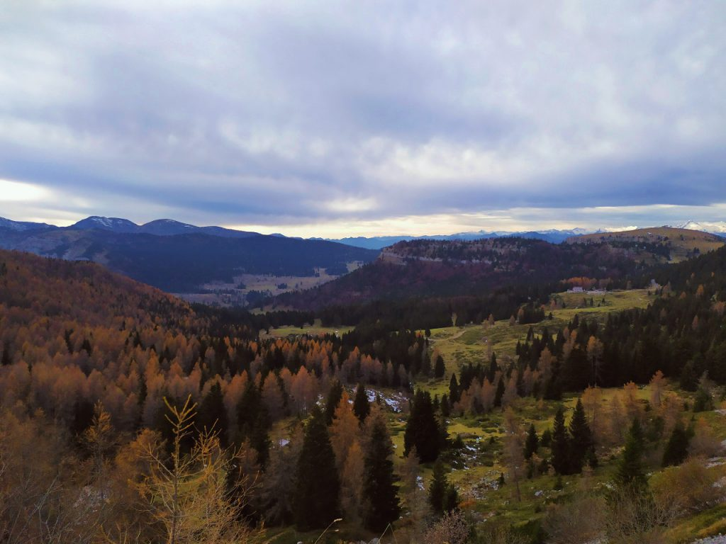escursione al monte maggio autunno