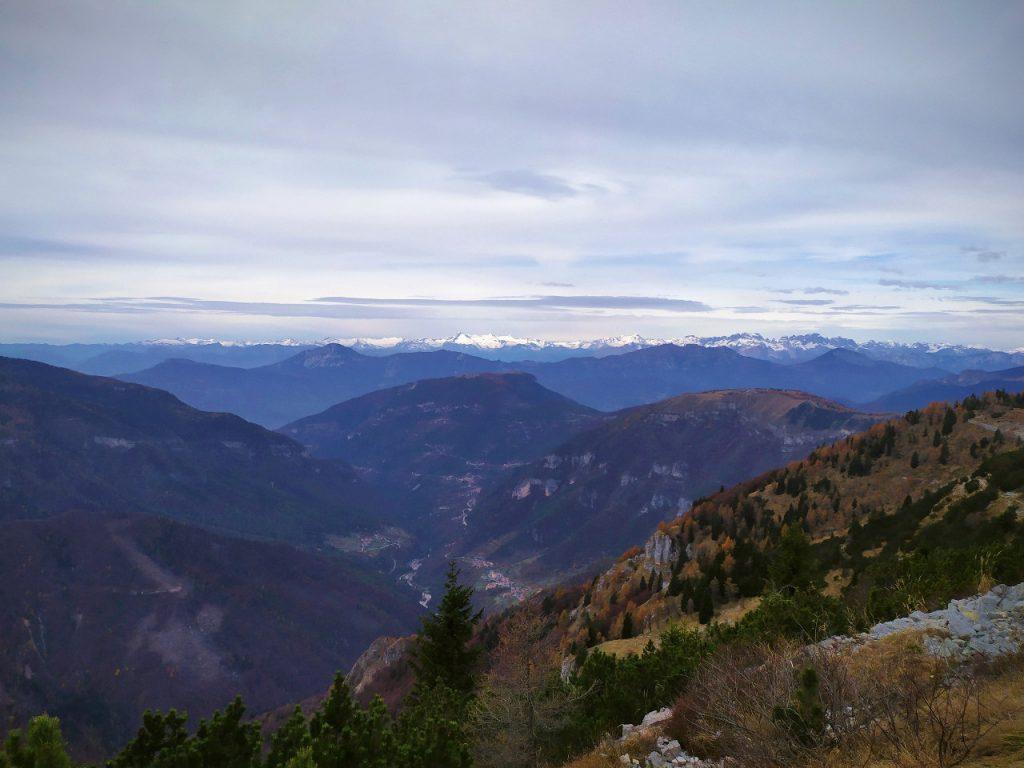 escursione al monte maggio da passo coe foliage autunno