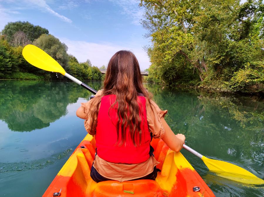 kayak in veneto sul fiume sile