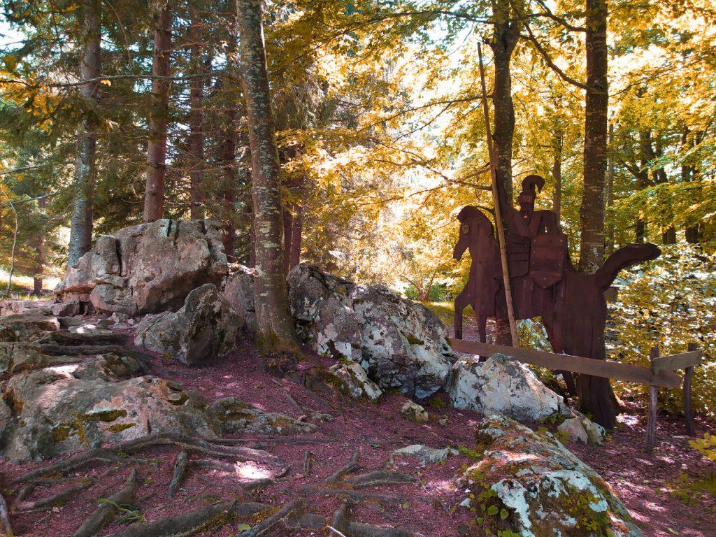 sentiero excalibur tonezza foliage