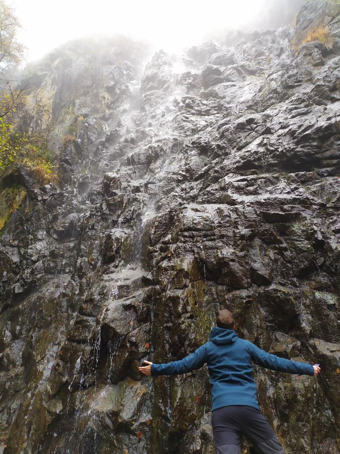 passeggiata cascata sas pisador