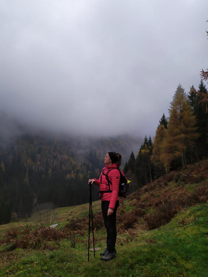 trekking val di sole autunno